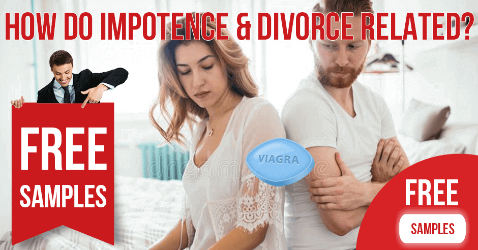 How do impotence and divorce related