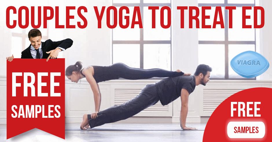 Couples yoga to treat erectile dysfunction