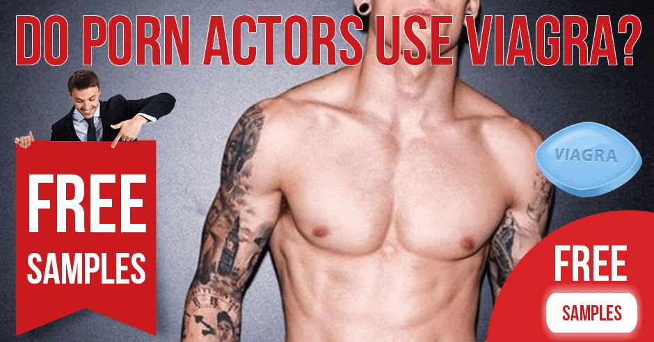 Do actors use Viagra in porn scenes