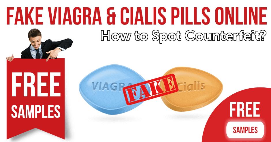 Fake Viagra & Cialis pills online: how to spot counterfeit