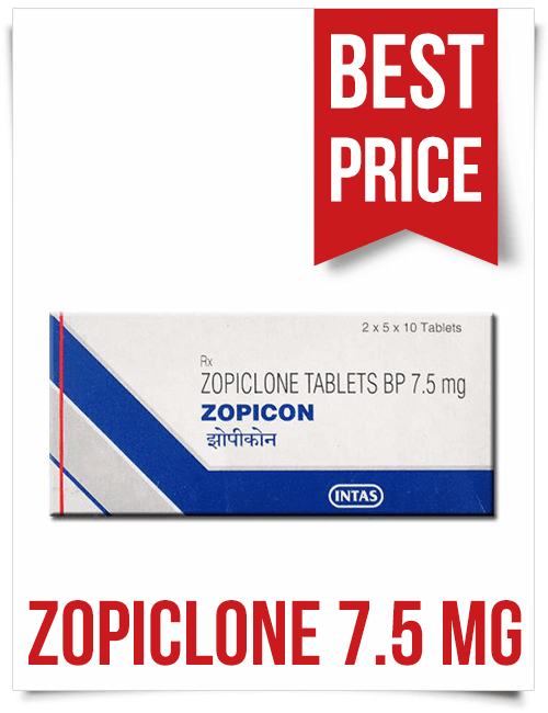 Buy Zopiclone 7.5mg Sleeping Pills Indian Zopicon