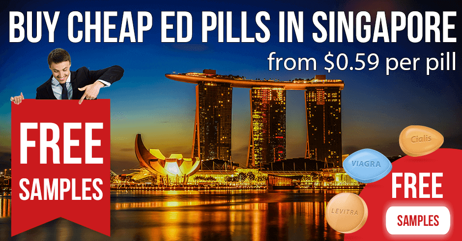 Buy Viagra and Cialis online in Singapore