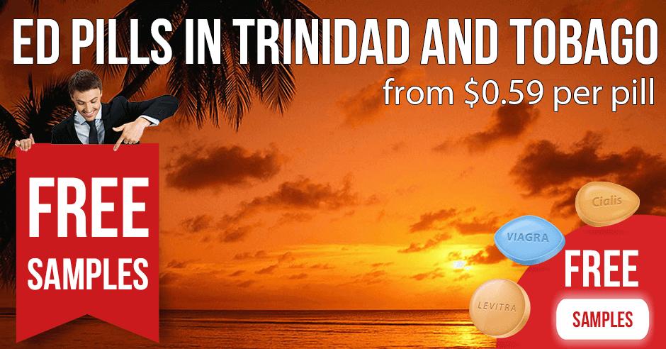 Buy Cialis and Viagra online in Trinidad and Tobago
