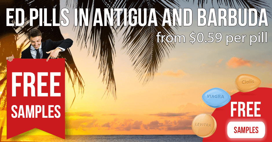 Cheap Cialis, Viagra and Levitra online in Antigua and Barbuda